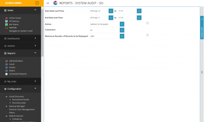 Report Manager SolarWinds MSP N-Central