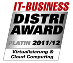 DISTRI AWARD - Virtualisierung & Cloud Computing Platin 2011/2012